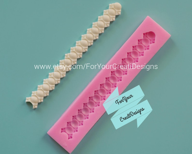 For chocolate candy. clay fondant resin Pearls silicone mold