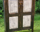 Two door pie safe Double door pie safe Farmhouse style cabinet Country cabinet vintage cabinet primitive cabinet