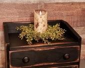 Keurig cup holder coffee storage Rustic keurig holder Wooden keurig cup holder K cup holder
