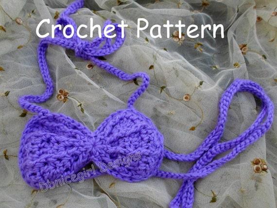 Mermaid Seashell Top Crochet Pattern Etsy