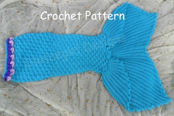 Mermaid Skirt Costume Crochet Pattern Child Sizes from DbnicegirlDesigns on Etsy Studio & Mermaid Skirt Costume Crochet Pattern Child Sizes from ...