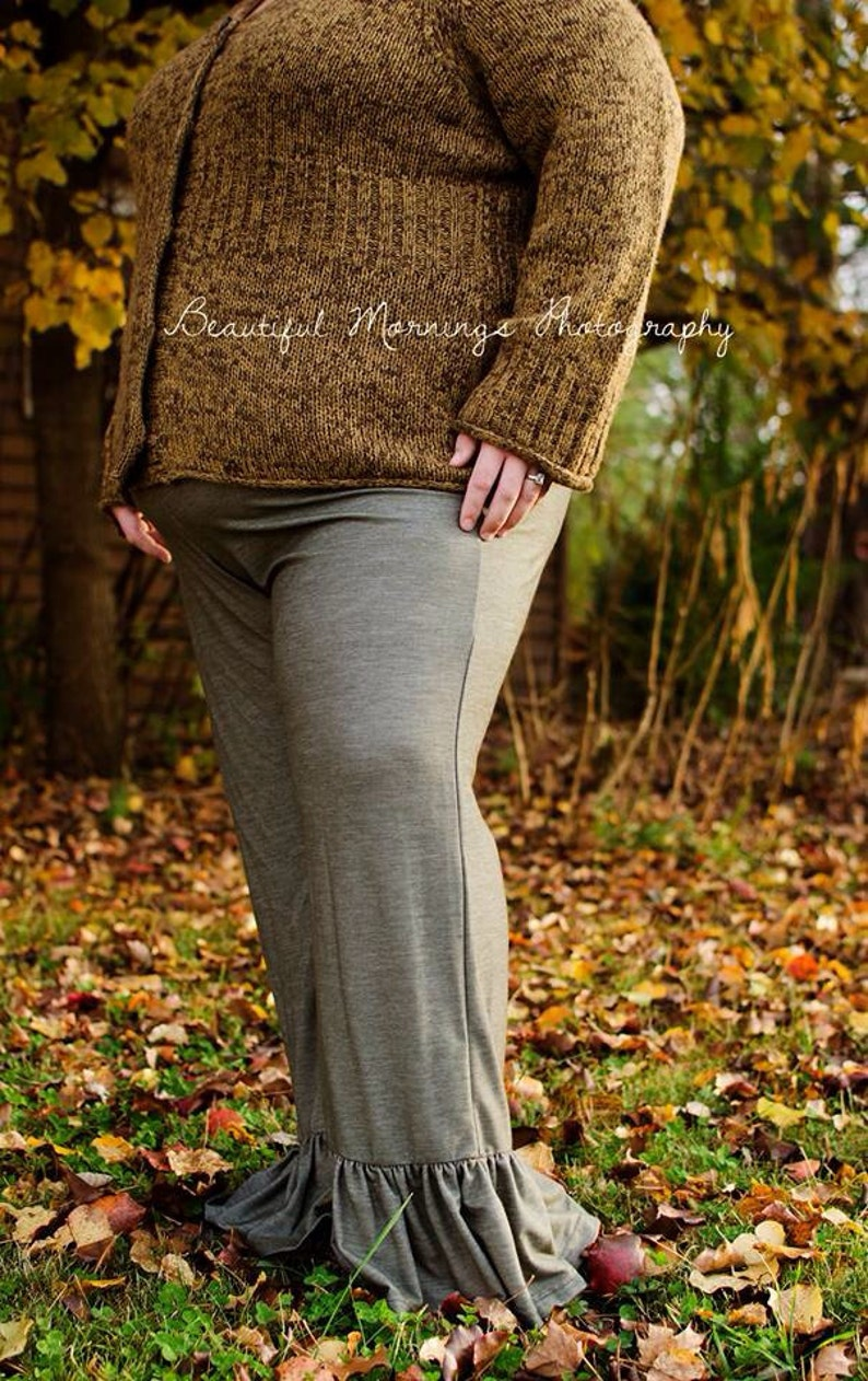 178590bf48 Matilda Jane inspired Plus Size Womens ruffle pants.