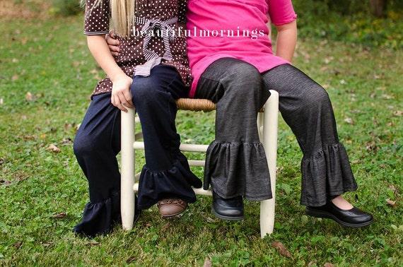 Vacances vente les filles la main volante pantalon inspiré par Matilda Jane
