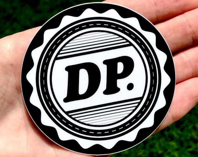 DP Seal Inverted Sticker: 5 pack