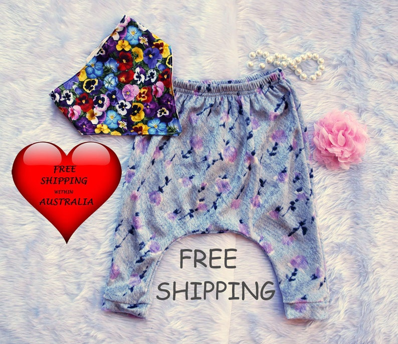 0 /& 1 baby girls Leggins FREE bib Size 00 Baby Girls Pants,Girls Baggy Pants