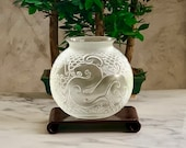 Lalique Xian Dragon Vase Signed MINT New Condition with Box Signed Retail 2100USD