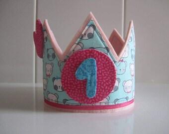 Crown anniversary-Crown birthday-gift girl-Personalized crown-Happy birthday-anniversary Gift