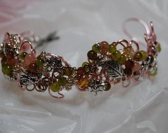 TUTORIAL: Gracies Garden Bracelet