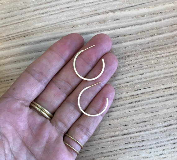 NEW! Gold Hoops, Circle Earrings, Circle Hoops Earrings, Hoop Post Earrings, Hoop Studs, Geometric Jewelry, Wholesale Jewelry Findings, Gold