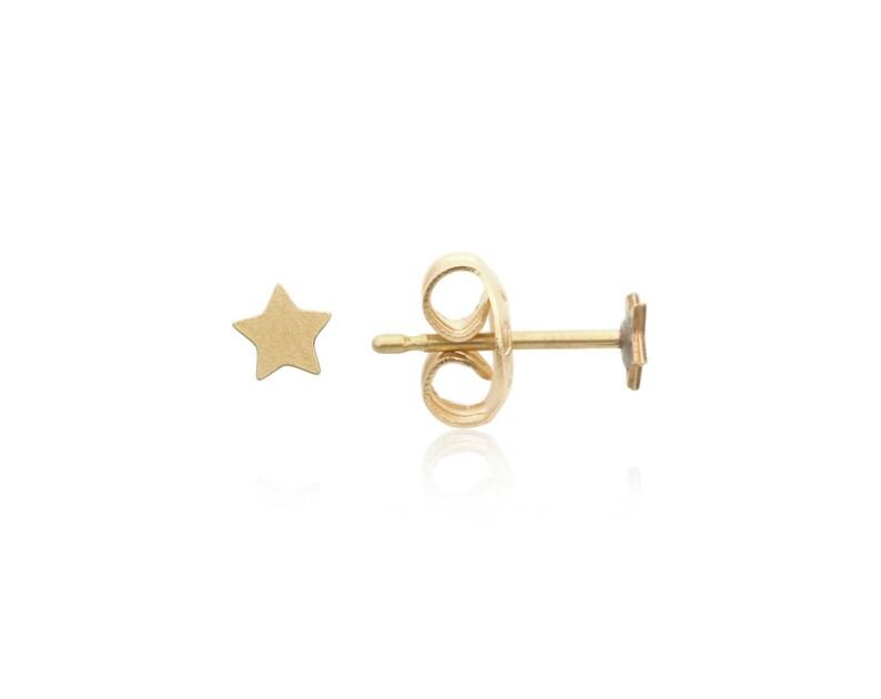 e1bf1b887 Brass Star Stud Earrings 1 Pair Brass Star Studs Star Post | Etsy