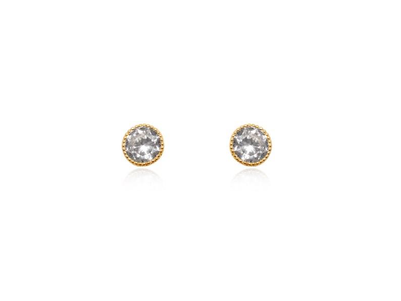 Clear Stone Earrings White Diamond Earrings Wholesale Earrings Gold Crystal Earrings Clear Crystal Earrings Gold Crystal Studs