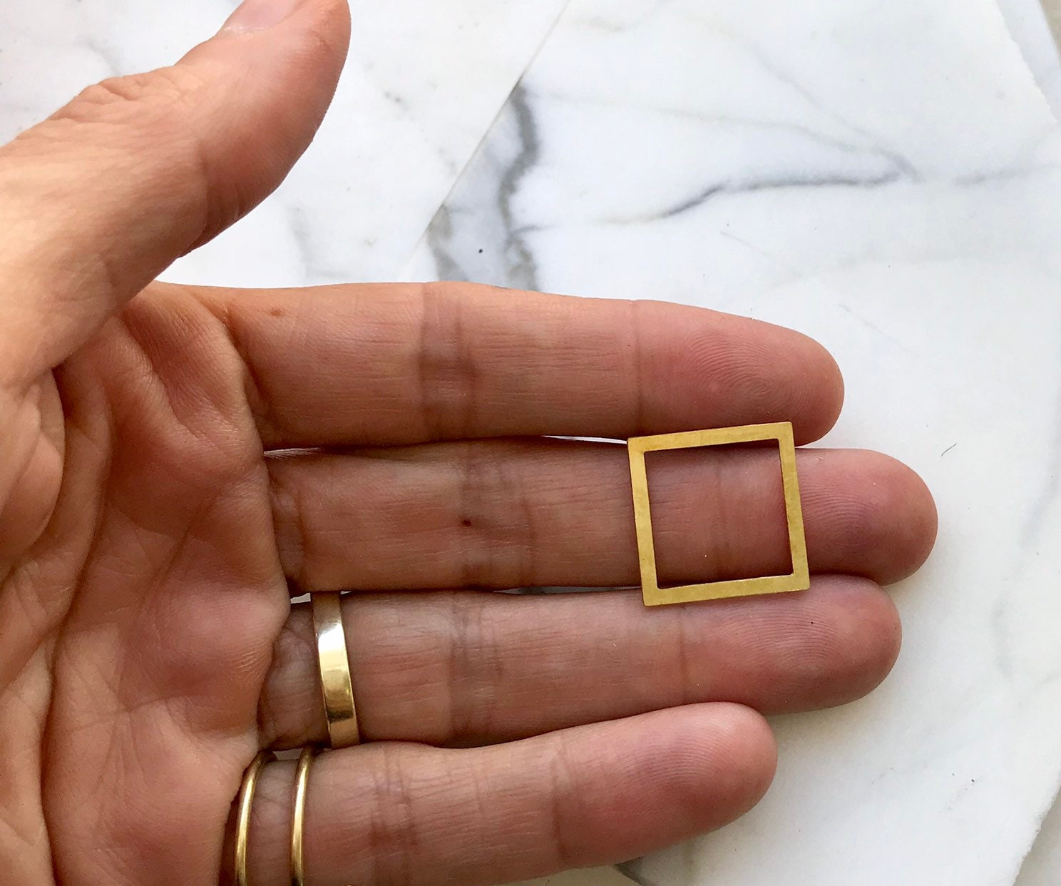 Laser Cut Charms Rose Gold Triangle Charm 3 Pcs Triangle Frame Charms Triangle Connector Rose Gold Triangle Pendant Geometric Findings