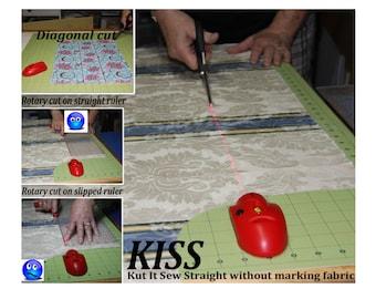 KISS (Kut It Sew Straight) Laser lIne