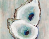 Double Oyster, 13x19 Sign...
