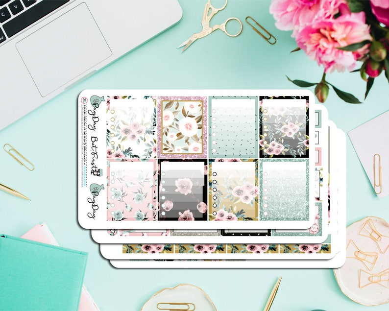 Perfect for ECLP Boss Lady Deluxe Weekly Planner kit Available in Horizontal and Vertical Sizes etc. Inkwell Press Happy Planner