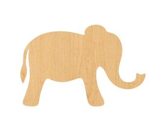 Elephant Shape Etsy