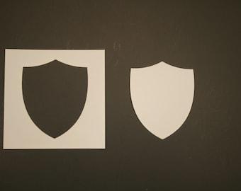 Medieval Shield 783-A055 Stencil
