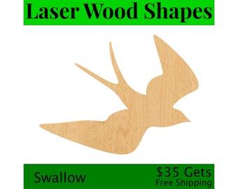 Woodcraft Cutout Moose 2 Laser Cut Out Wood Shape Craft Supply