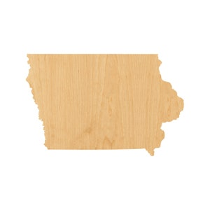 Arkansas Laser Cut Out Unfinished Wood Shape Craft Supply