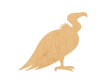 Vulture Laser Cut Out Wood Shape Craft Supply - Unfinished