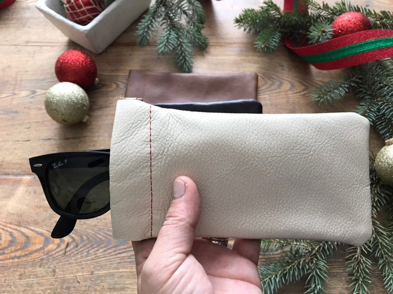 Flex Frame Long Pouch  Reclaimed Upholstery Leather image 0