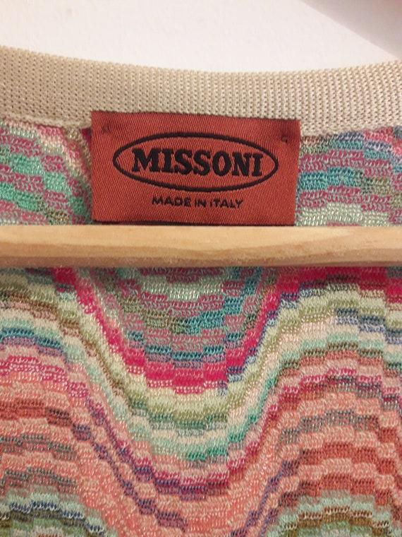 Rare Vintage Multicoloured Missoni Knit Dress - image 3