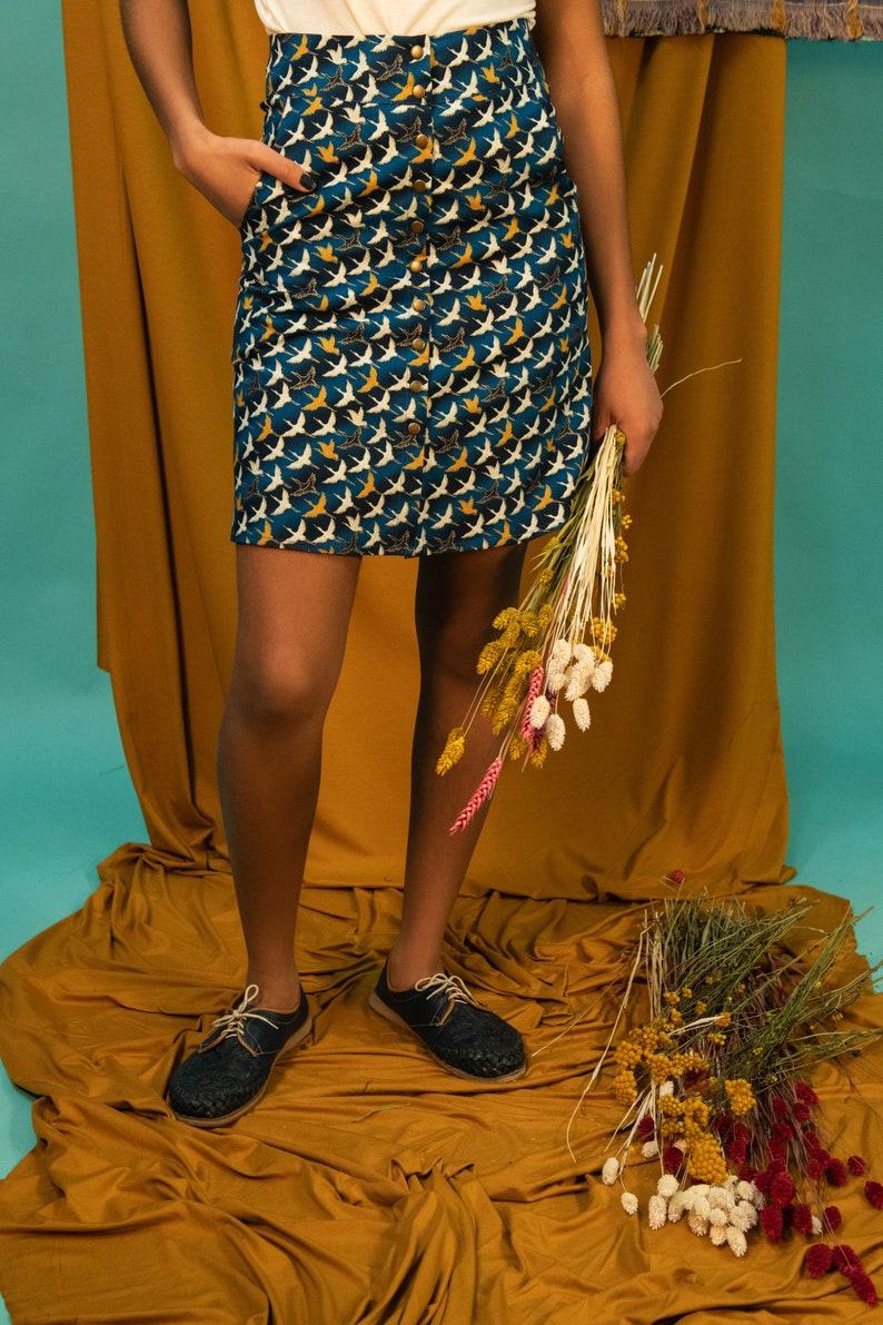Parma skirt  GOLDEN CRANE  KAZAK  Cotton image 0