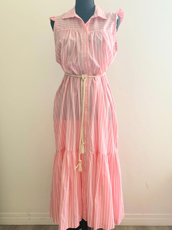 1980s Country Club Day Dress - image 1