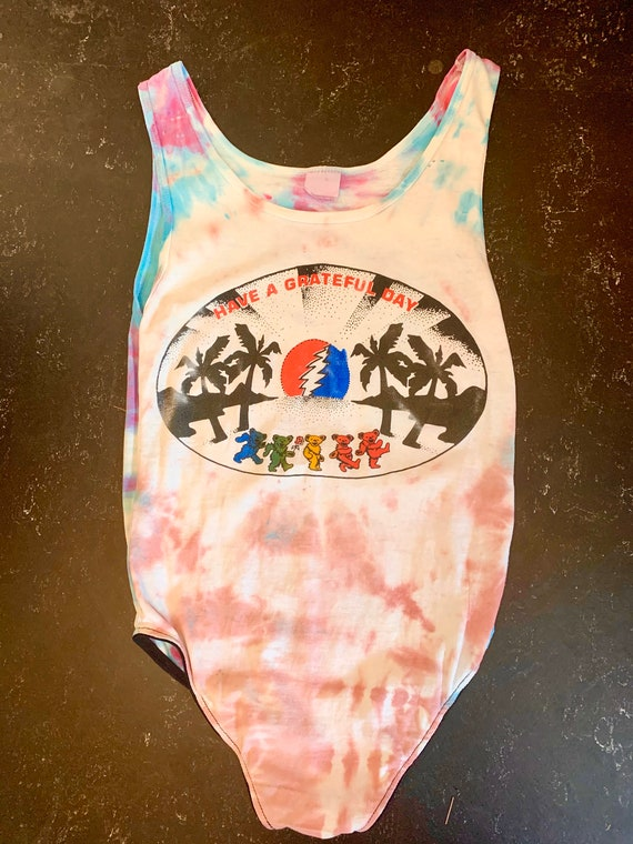 Vintage GRATEFUL DEAD Bodysuit