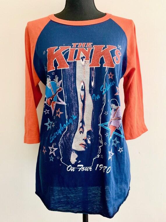 Vintage Kinks Raglan Tshirt