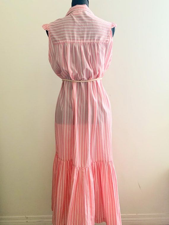 1980s Country Club Day Dress - image 6
