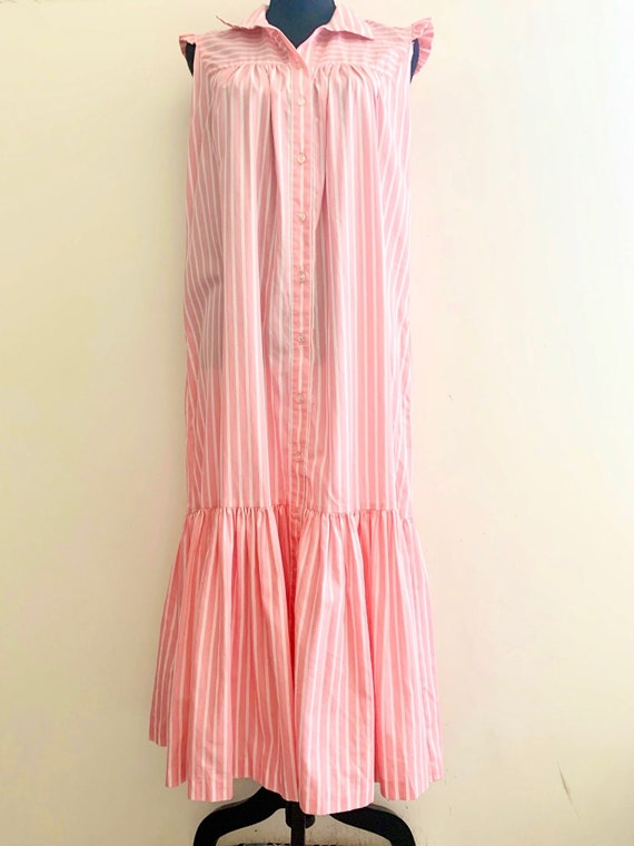 1980s Country Club Day Dress - image 2