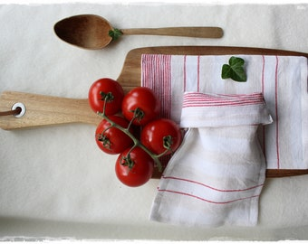 Unpackaged shopping bag of linen fabric Storage eco-friendly and plastic-free gift packaging handmade by lavendelherzl