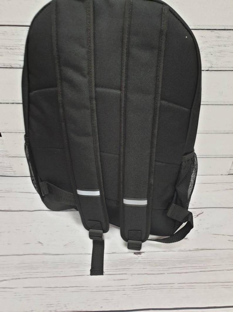 large school bag A4 school Bag Personalised school personalised bag Personalised Childrens backpack school bag hi-vis bag rucksack