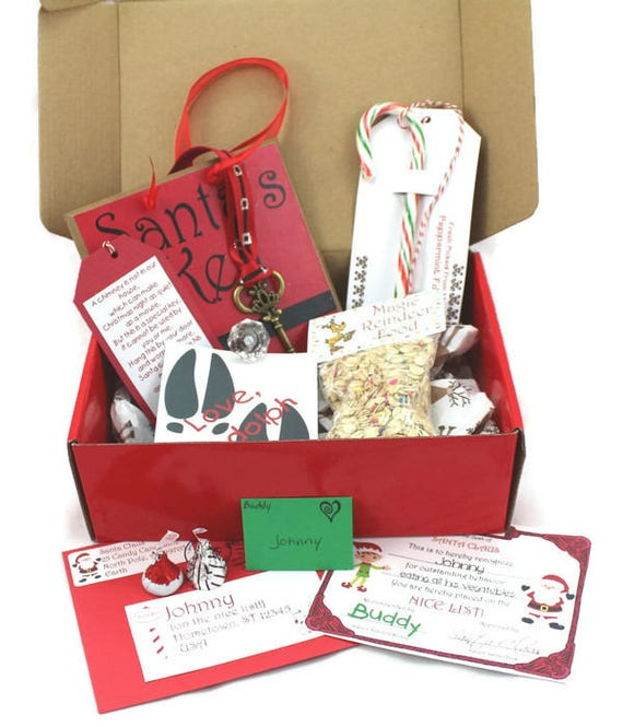 Personalized package from santa letter from santa santas spiritdancerdesigns Image collections