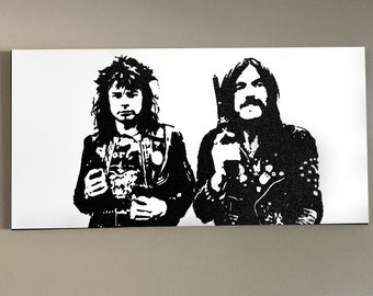 MOTORHEAD 4'X2' on Deep Canvas