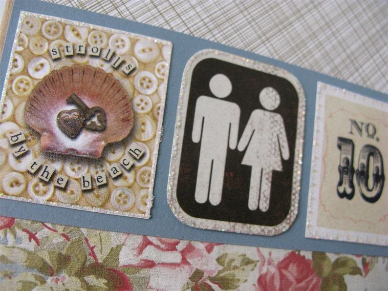 10th wedding anniversary card tenth anniversary card  etsy