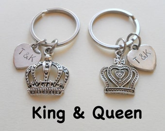 King And Queen Crown Etsy