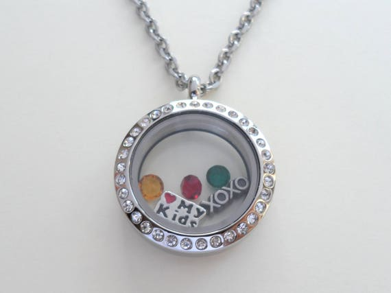 daddy/'s angel charm for living glass floating locket
