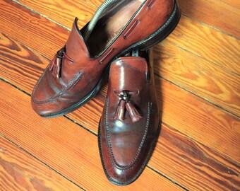 Newer Vintage Allen Edmonds Saratoga Shell Cordovan 10.5C