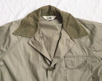 5c73dcd51d4c7 Vintage 80s Duxbak Light Green Hunting Jacket Medium