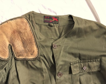 ac444daba9e69 Vintage 60s 10-X Shooting Jacket 48 With Patches