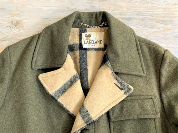 Vintage 60s Lakeland Olive Green Blanket Lined Duf