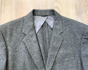 Vintage 50s Robert Hall Gray Tweed Sport Coat