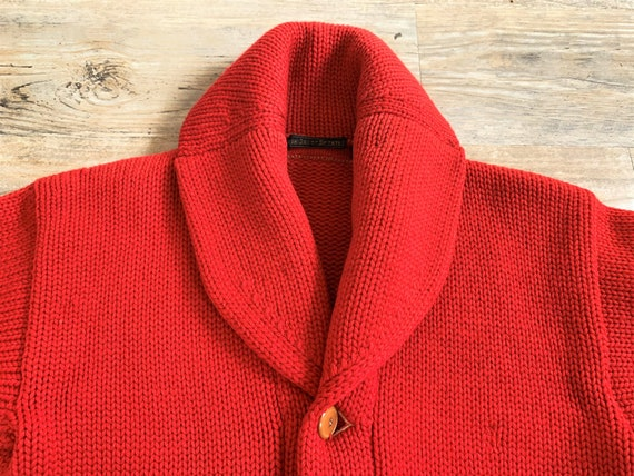 Vintage 1920s 1930s High Grade Sweater Heavy Wool