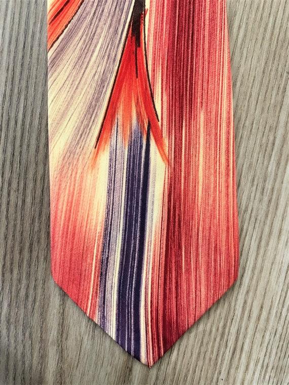 Vintage 40s Pilgrim Painted Tie