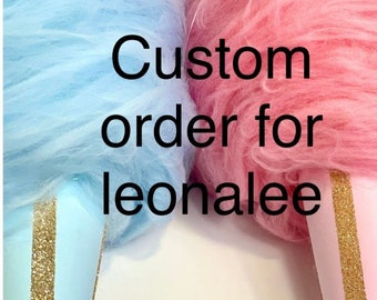 Custom listing for leonalee 3 xl cotton candy