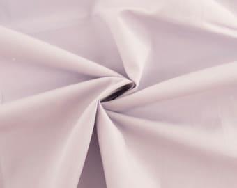 Organic Cotton Orchid Solid Poplin, Birch Fabrics