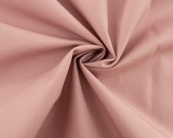 Organic Cotton Woodrose Solid Poplin, Birch Fabrics
