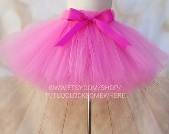 f1c564077 Pink Tutu, Birthday Party, Cake Smash, First Birthday, Easter, Valentine's  Day, New Year's, Baby, Infant, Toddler, Teen, Adult, Plus Size